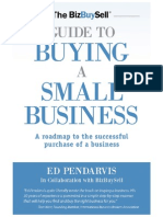 Ed Pendarvis- Guide to Buying a Small Business