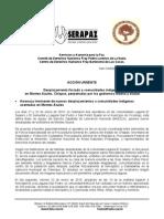 Servicios y Asesoría Para La Paz. Comité