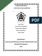 LAPORAN PRAKTIKUM Struktur Data Dan Algoritma