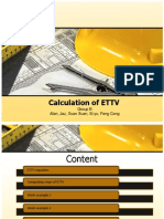 Building Envelope - Group B (ETTV)