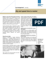 improve profitability and speed time to market