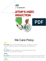 Visitor's HSEC Induction
