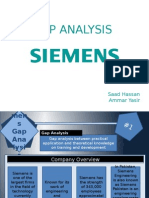 GAP Analysis Siemens