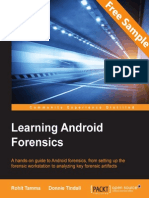 Learning Android Forensics - Sample Chapter