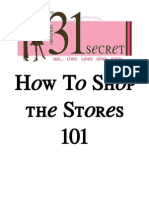 How to Shop the Stores 101