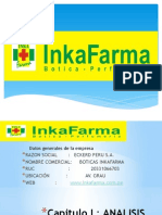 Ppt Plan de Marketing Boticas Inkafarma