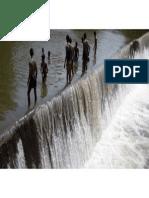 Irrigation Dam in Tamil Nadu, India