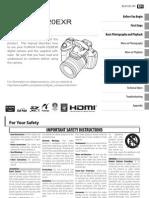Finepix Hs20exr Manual En