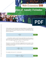 Web Extension 28B - Derivation of Annuity Formulas