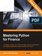 Mastering Python for Finance - Sample Chapter