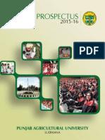 PAU Prospectus 2015