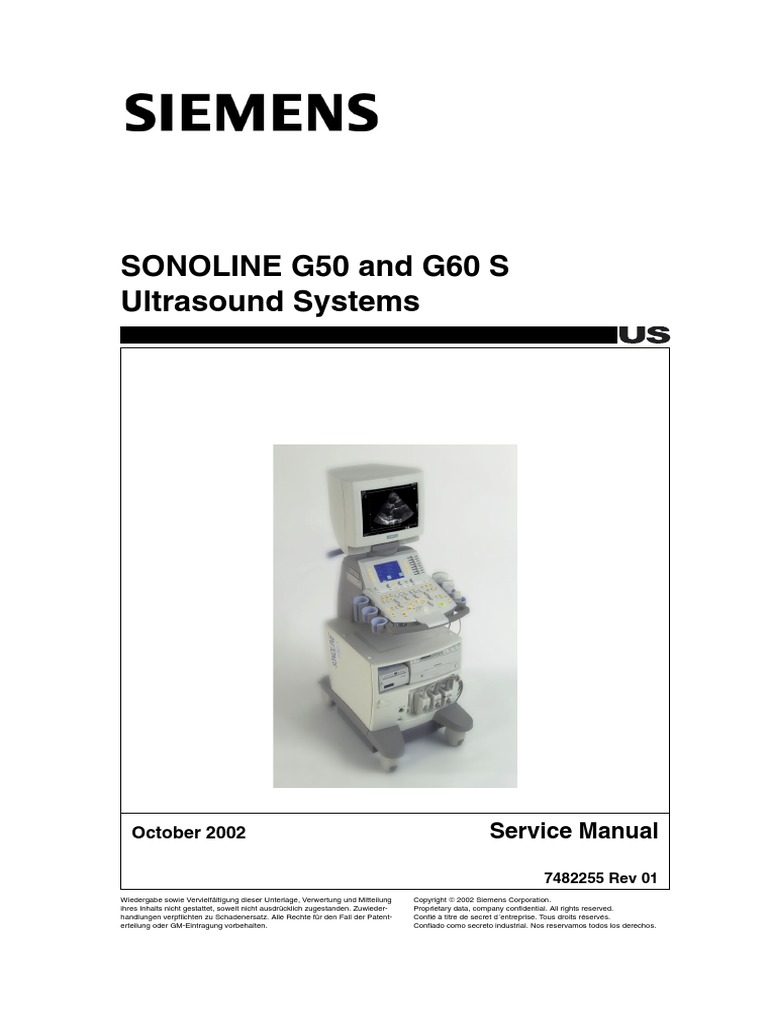 siemens g50 service manual medical ultrasound fuse electrical