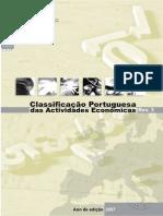 Classificação Portuguesa das Actividades Económicas (CAE)