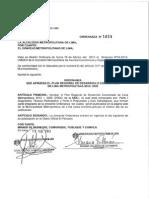 Plan Regional de Desarrollo Concertado de Lima Metropolitana