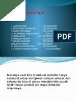 Introduction Web Performance