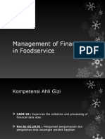 Management of Financial in Foodservice LK FSM2 2013-2014 A1