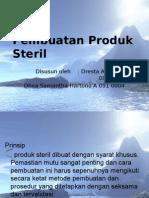 Pembuatan Produk Steril