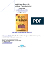 Essentials of Repertorization Shashi Kant Tiwari S.01530 1Contents