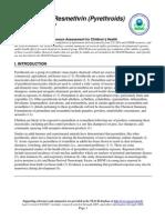 Permethrin & Resmethrin (Pyrethroids)