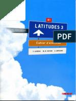 Latitudes 3. Cahier Dexercices
