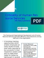 HR Recruitment - HR Audit Services