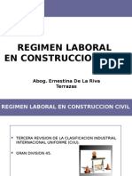 Regimen Laboral en Construccion Civil - 1