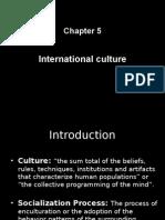 Ch 5 international culture