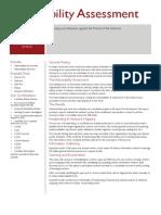 Vulnerability Assessment Services