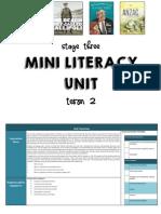 anzac literacy program