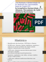 Antibiotico MECANISMO de AÇÃO e Resistencia