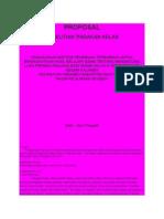 Proposal PTK Kelas 3