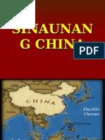 Sibilisasyong China!