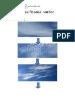 Clasificarea norilor