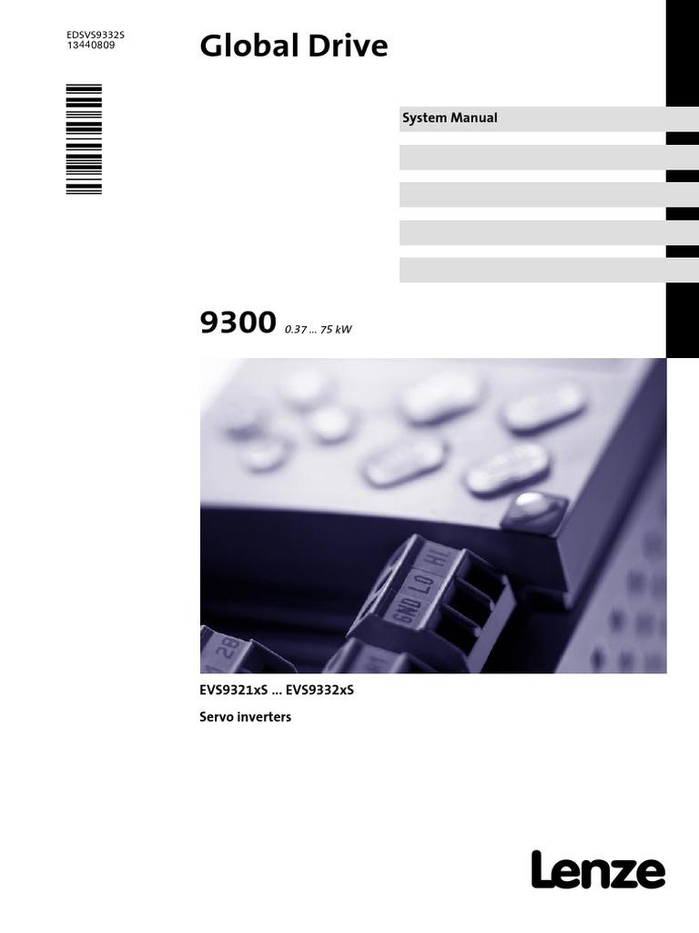 Evs93xx 9300 Servo Inverter V6