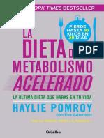 La Dieta Del Metabolismo Acelerado-haylie Pomroy