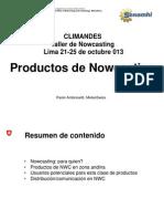 Productos Nowcasting - Pronosticos del Tiempo