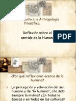 Acercamiento a la Antropología Filosófica PPT