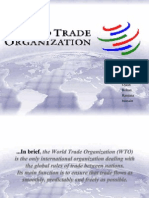 WTO AND ITS LEGAL IMPORTANCES
