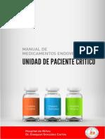 Manual de medicamentos - Unidad de pacientes Críticos