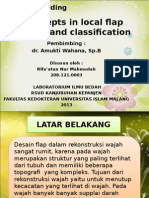 Concepts in Local Flap Design and Classification Ppt