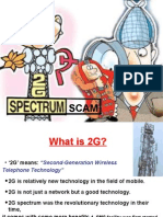 2G Spectrum Scam Ppt