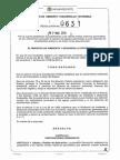 Resolucion 631 2015