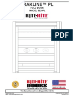 Manual Fold Door 8920PL