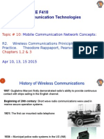 ECE C392 Mobile Communication Concepts Apr 10, 13, 15, 2015