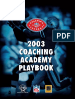 Amer. Jalkapallo 200 Coachingacademyplaybook2003
