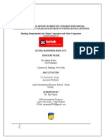 Commercial Banking Kotak Mahindra Bank NEW.doc