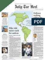 The Daily Tar Heel for Feb. 4, 2010