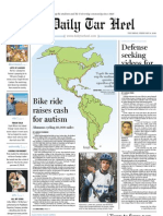 The Daily Tar Heel for Feb. 4, 2010