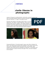 Michelle Obama in Photographs