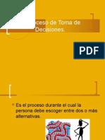 Toma de Decisiones - PPT